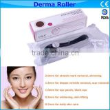 zgts dermaroller derma roller titanium for acne scar removal and Black rim of the eye Eye bag