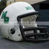 hot sale inflatable football helmet tunnel inflatable sports game professional supplier KKT-L129