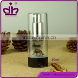 Foundation packaging plastic BB cream 30ml airless pump bottle