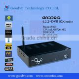 smart tv box IPTV dvb-s2 2013 google android 4.0 arabic with online tv