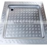Stainless Steel 304 Customized Deep Shower Tray for RV,Yacht,Boat,Train and Public Mobile Toilet