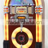 Bubble LED light Commercial Jukebox with radio fm am / cd player /bluetooth speaker