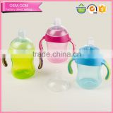 Manufacturer wholesale BPA free platstic pp 360 sippy cup for infant drinking