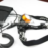 2013 TrustFire newest design 3868-H6 led helmet flashlight 400lm bike light led cree xml t6 led light for bike