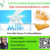 High concentration milk flavour used for biscuit and bakery,good quality liquid flavouring