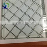 6mm wire glass clear wired glass Wire Laminated decorative Glass