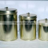 tea tin canister set, christmas canister set