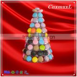 2016 Fast-sell New Patent Multifunctional Macaron Tower ,10 Tier NEW design tower stand ,Macaron display tray,macaron packaging