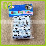 China Manufacturer Eco- Friendly Resealable New design long bones shaped printing plastic bags for dogs