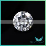 Factory hot sale Colorless Moissanite 1 carat difference between diamond and moissanite with fine moissanite jewelry