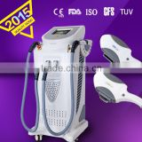 IPL+E-light+SHR beauty machine/device Birthmark Removal Beauty Clinic Equipment with laser hair removal function