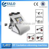 YL-RF07 CE Approved 40KHZ Ultrasound Wrinkle Removal Cavitation Radiofrecuencia Tripolar Vacuum Cavitation Machine 10MHz