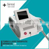 Portable Nd YAG Laser Tattoo Removal and Ota's nevus , mole Removal laser Machine with CE