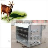 Goat Sheep Slaughtering Equipment used buck (goat caprine toggenburg) Hair Removal Equipment or Dehairing Machine can to dehair
