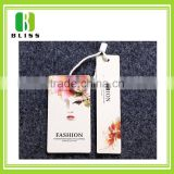 Hot Selling Professional China Custom Cheap Wholesale Kraft Cardboard Swing paper garment hang tags