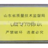 13.56MHZ RFID gas cylinder tag with ISO15693 standard