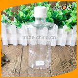 Clear Body Shaped Plastic Bottle Like a Man's Body