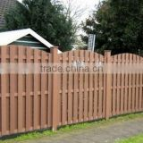 wpc fence railing cheap composite decking material