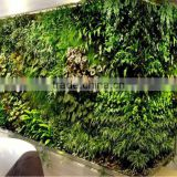 hot sale greenery wall artificial plant wall artificial fake wall hang plant for indoor or outdoor decoration