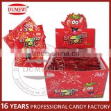 2.5G Shocking Fruit Flavor Pop Rocks Popping Candy