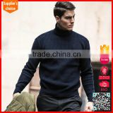 New stylish man wool sweaters design men's wool turtle-neck sweater