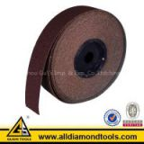Aluminum Oxide Sanding Roll with Various Color Painting