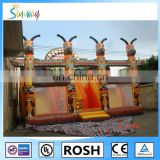 Inflatable Sunway Jumping Castle Large Inflatable Castle Bouncy Playing House