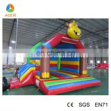 Colourful Lovely Monkey Shape Inflatable Animal Bouncers