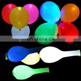 High quality led balloon 12 inch flashing led light balloon