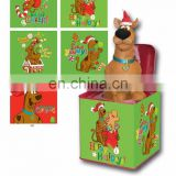 Christmas gift Jack in the box toy dog gift sing music song tin box Umay-JR0010