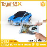 Unique design IOS and Android systerm intelligent miniature pocket racing car with challengeable tablet games