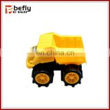 Children plastic mining truck toy