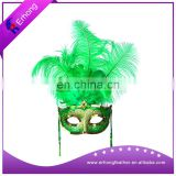 Wholesale Anime Masquerde Costume Party Mask Eye Feather Sequin mask