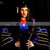 Deluxe Doctoral Graduation Gown Only - PhD black trim