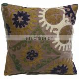 SUZANI EMBROIDERY CUSHION COVER/ PILLOW COVER