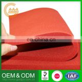 4 Years Manufacturer Customized Reasonable Price Excellent Quality Silicone Rubber Foam Sheet