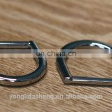 Alibaba China Supplier Wholesale Bag Metal Accessories D Ring Belt Buckles For Handbags Purses