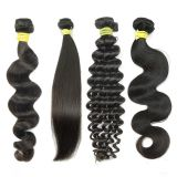 KHH Factory Cuticle Aligned tangled free unprocessed raw indian body wave hair bundles