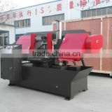 Metal bandsaw cutting machine GZ-4230 Portable Band Sawmill
