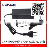 2015 K-111 YGY Made in china shenzhen 60w switching power ac adapter 12v 5a for LCD CCTV LED with UL CE GS FCC certificate