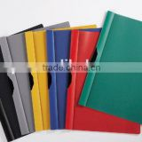 a4 size office clip file document file holders with swing clip decorative report file folders