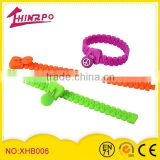 Wholesale Custom Design Wrist Band w Zipper Silicone Bracelet Bangles for Party Gifts