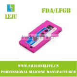 cassette silicone cell phone case for samsung i9100