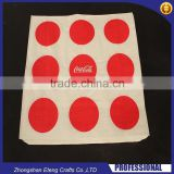High definition printed paper napkin with custom made brand name