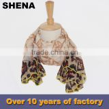 fashion satin scarf for airline stewardess supplier