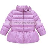 2015 hot sale lovely coat high quality children girls winter coat