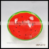 wholesale hotel use decorative red China ceramic food bowl,soup bowl
