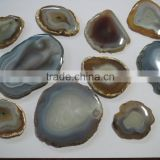 Banded Striped Botswana Agate Slices loose gemstones
