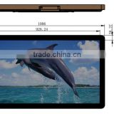 "42"" wall mounted for advertising digital panel 42inch touch screen kiosk advertising lcd player with switch button"