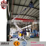 8m factory direct order tocherry picker telescopic articulated hydraulic trailer boom lift tables